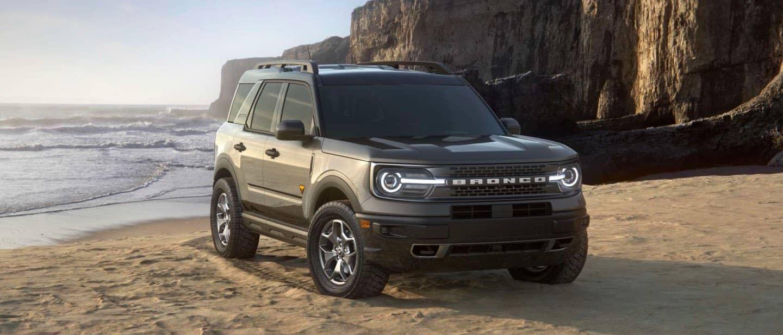 Carbonized Gray Ford Bronco Sport