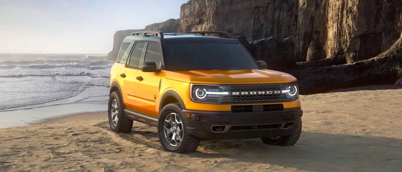 Cyber Orange Ford Bronco Sport