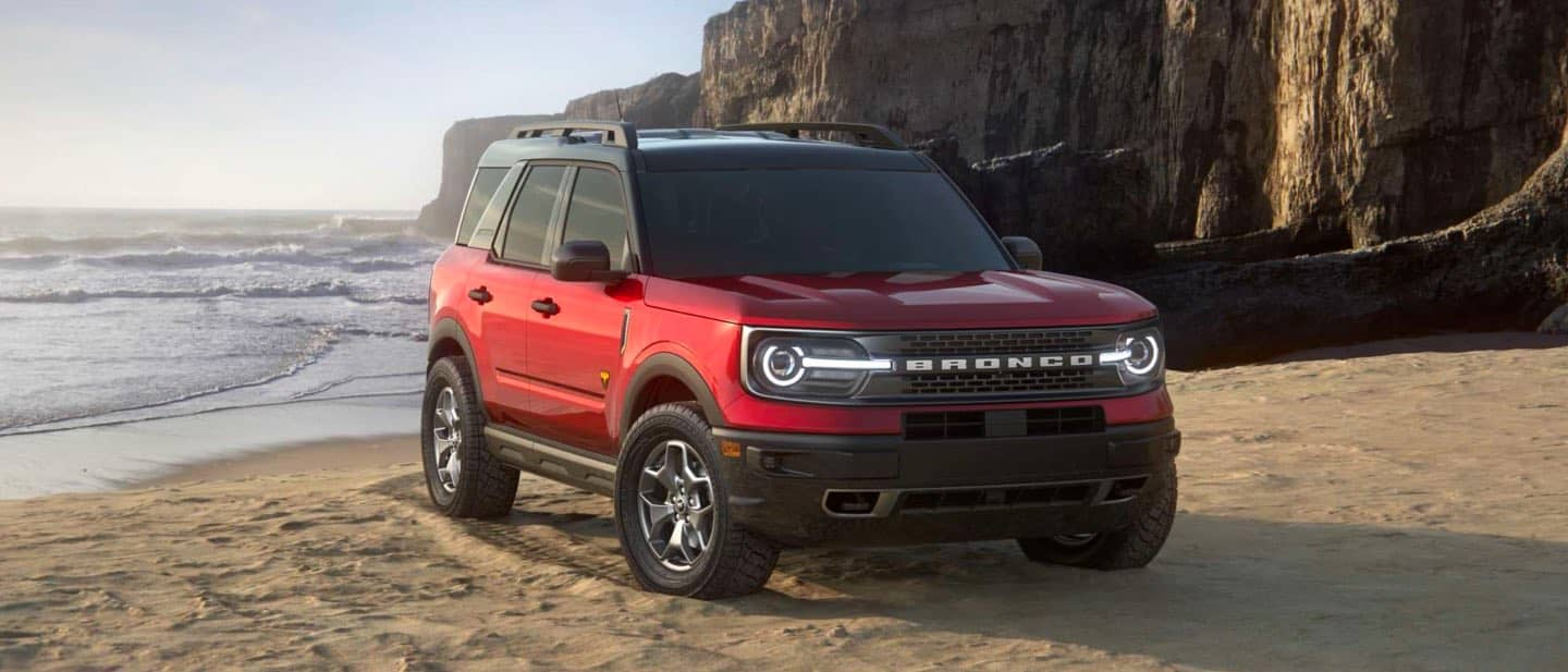 Rapid Red Ford Bronco Sport
