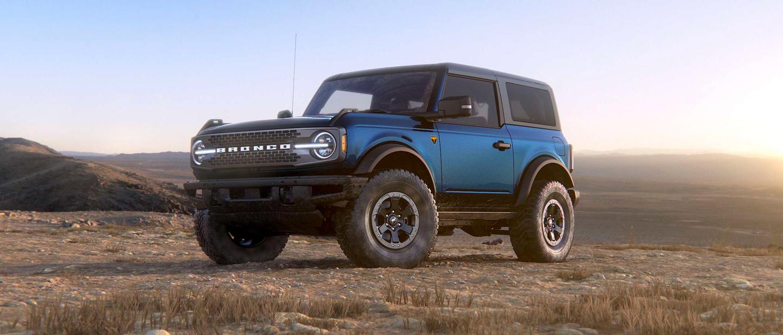 Antimatter Blue Ford Bronco