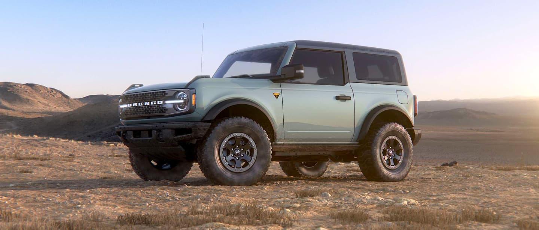 Cactus Gray Ford Bronco
