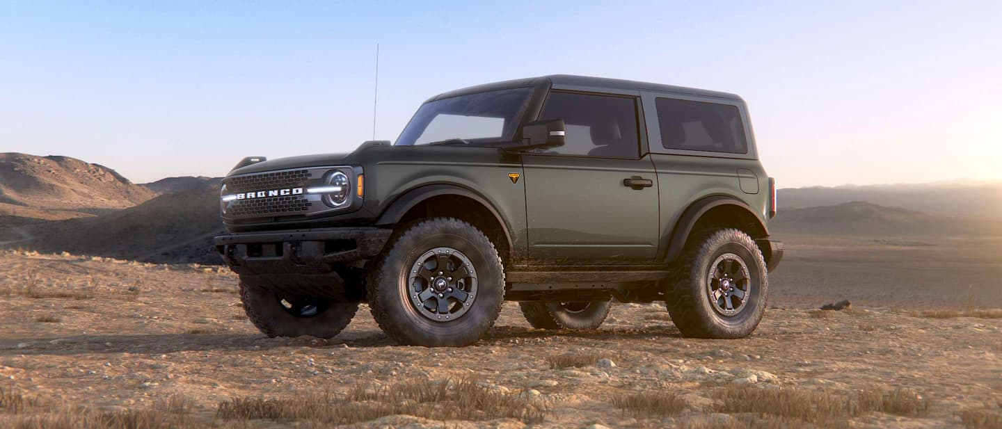 Carbonized Gray Ford Bronco