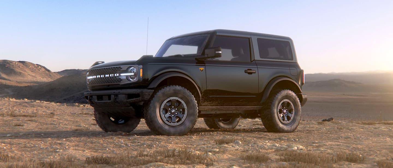 Shadow Black Ford Bronco