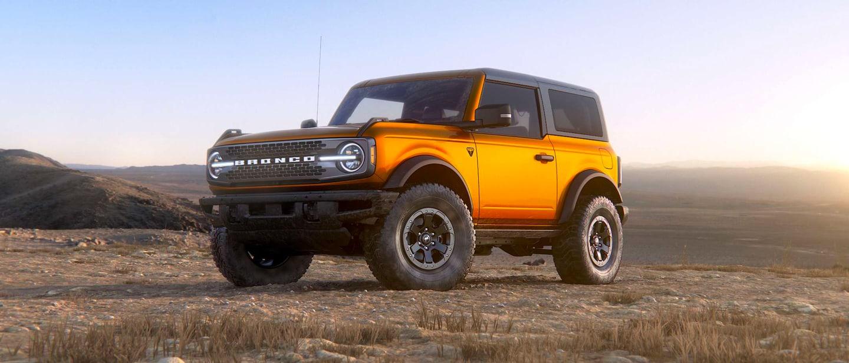 Cyber Orange Ford Bronco