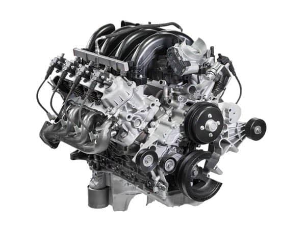 Ford E-Series Cutaway Engine
