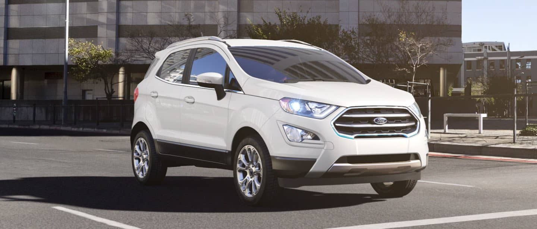 Diamond White Ford EcoSport