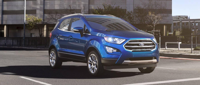 Lightning Blue Ford EcoSport