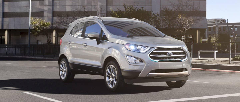 Moondust Silver Ford EcoSport
