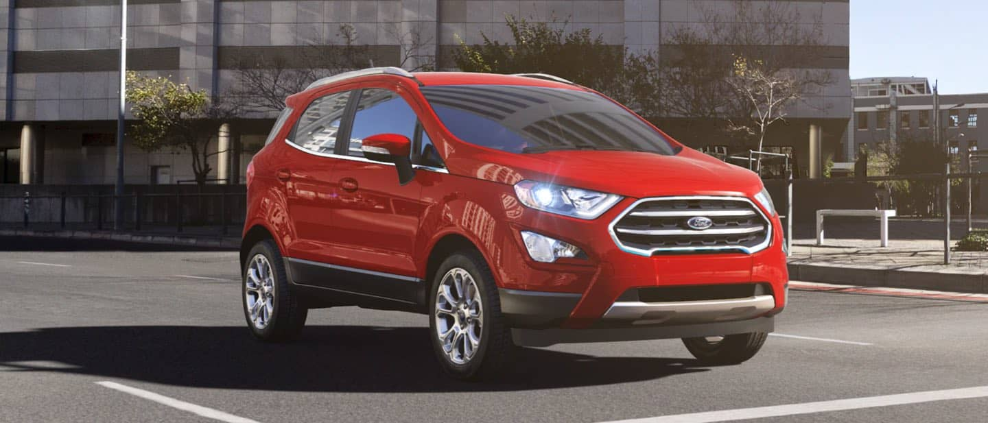 Race Red Ford EcoSport