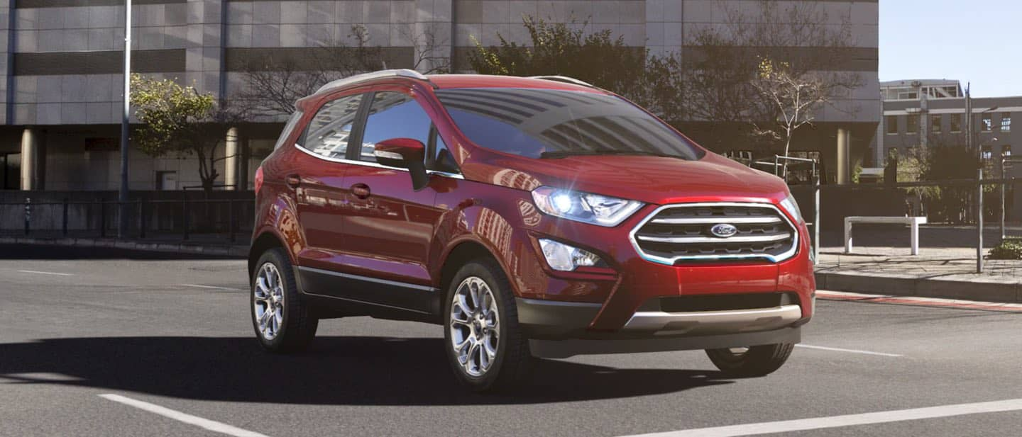 Ruby Red Ford EcoSport