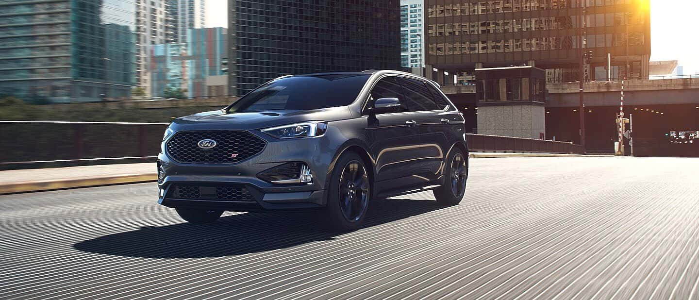 Carbonized Gray Ford Edge ST