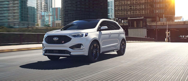 Star White Metallic Ford Edge ST