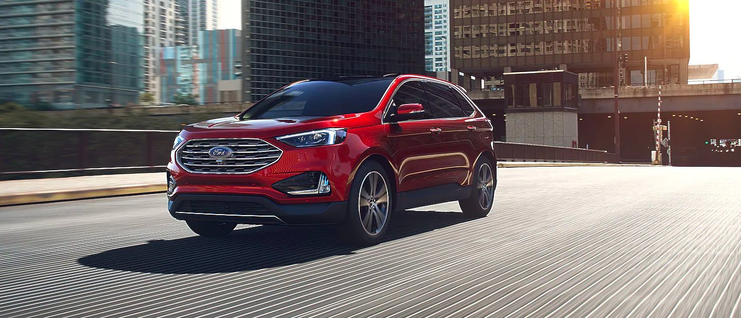 Rapid Red Metallic (Extra Cost) Ford Edge