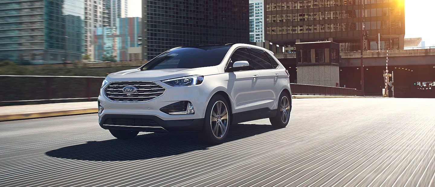 Star White Metallic (Extra Cost) Ford Edge