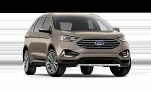 Ford Edge Titanium Trim