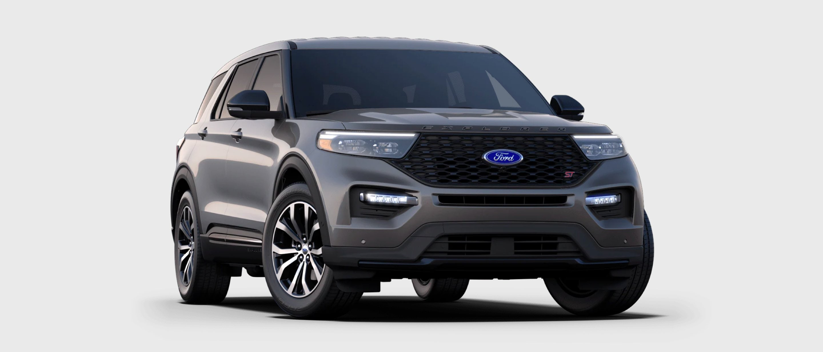 2021 Ford Explorer ST in Carbonized Gray