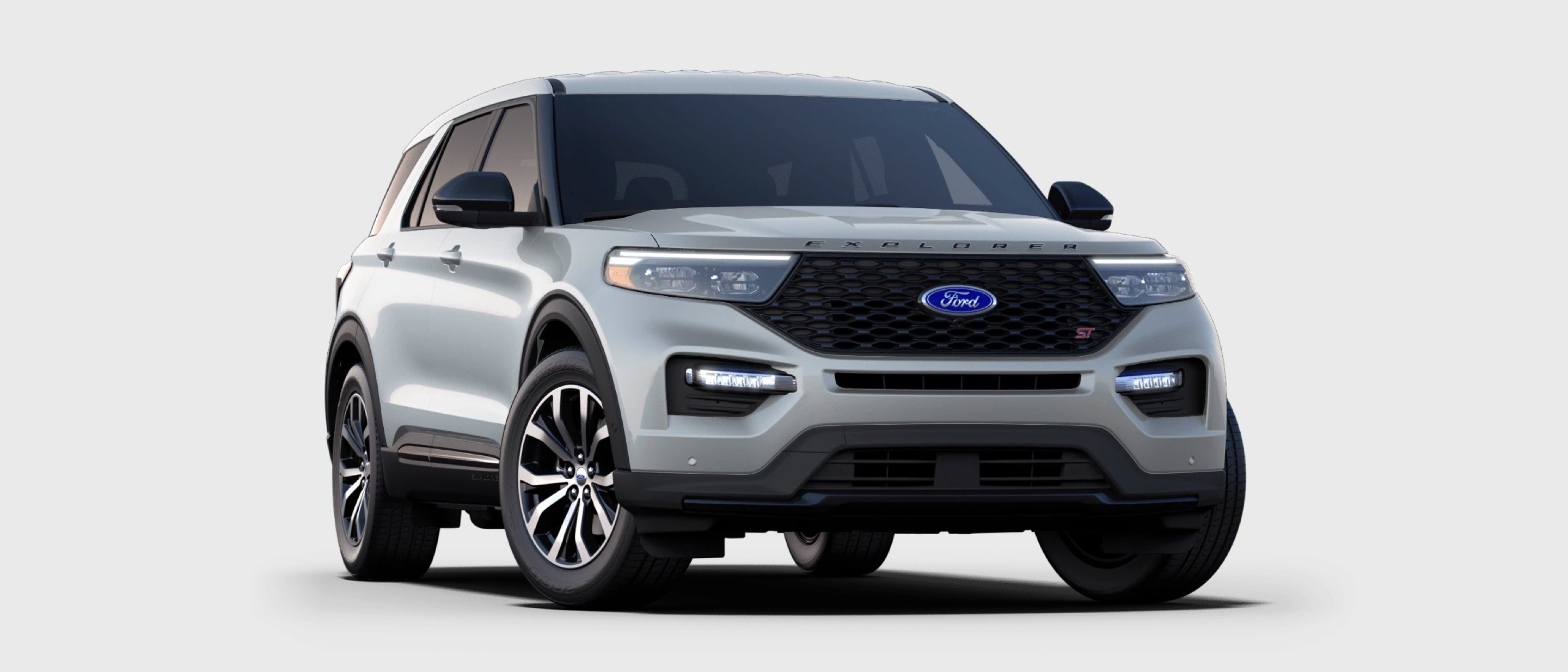 2021 Ford Explorer ST in Iconic Silver