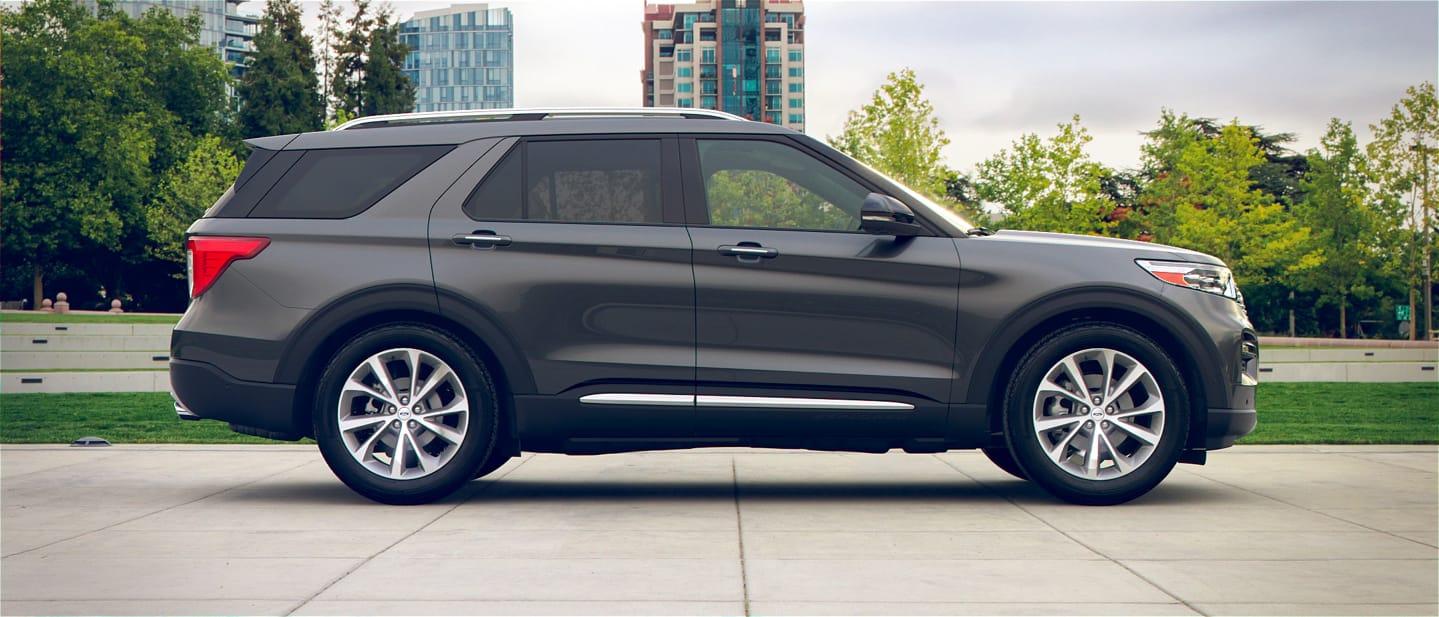 Carbonized Gray Ford Explorer