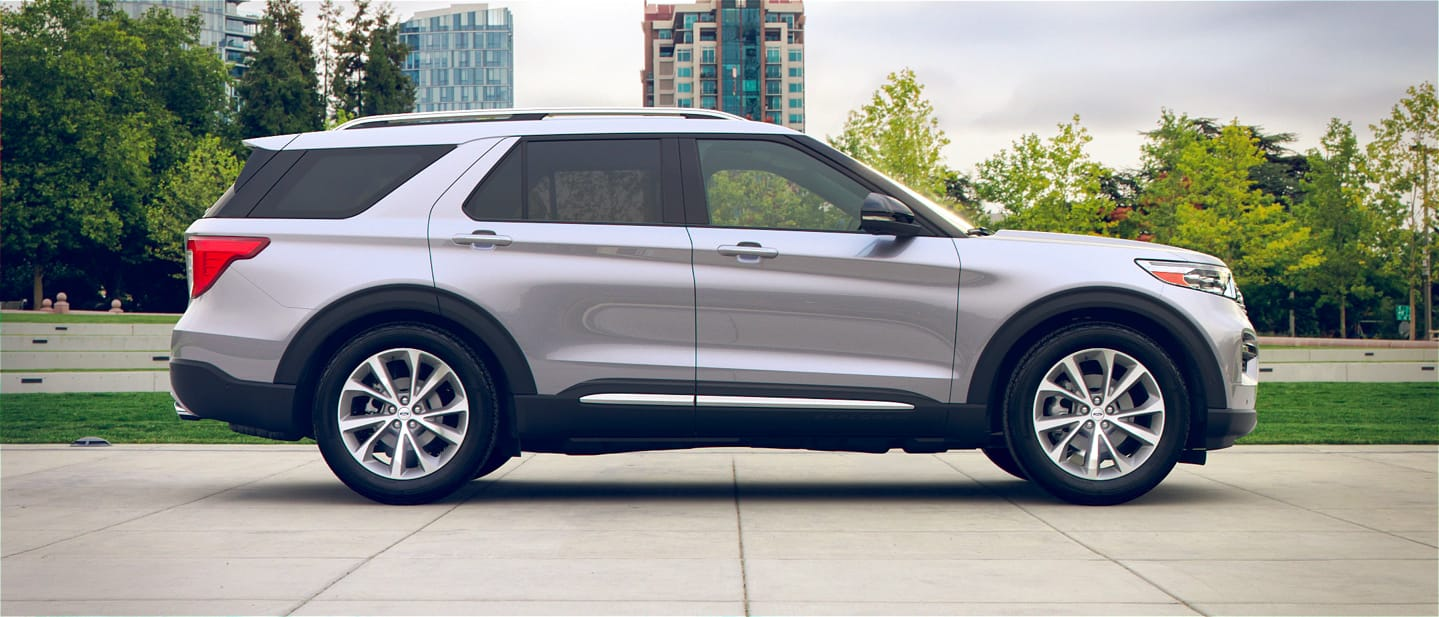 Ford Explorer Iconic Silver Trim