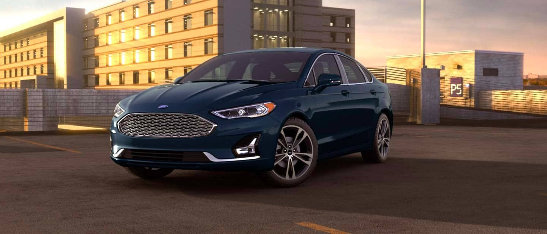 Alto Blue Ford Fusion Hybrid