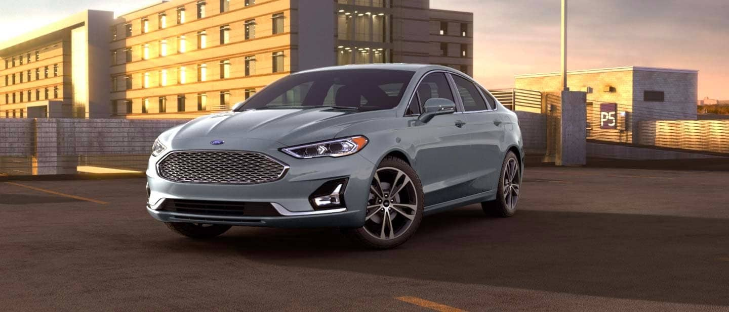 Iconic Silver Ford Fusion Hybrid