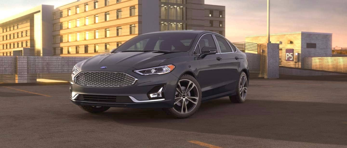 Magnetic Ford Fusion Hybrid