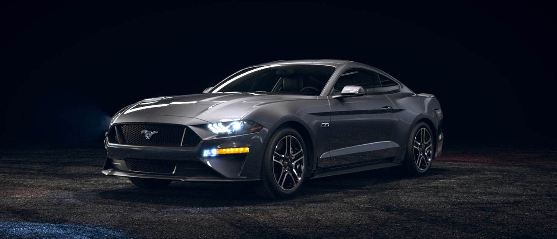 2021 Ford Mustang in Carbonized Gray