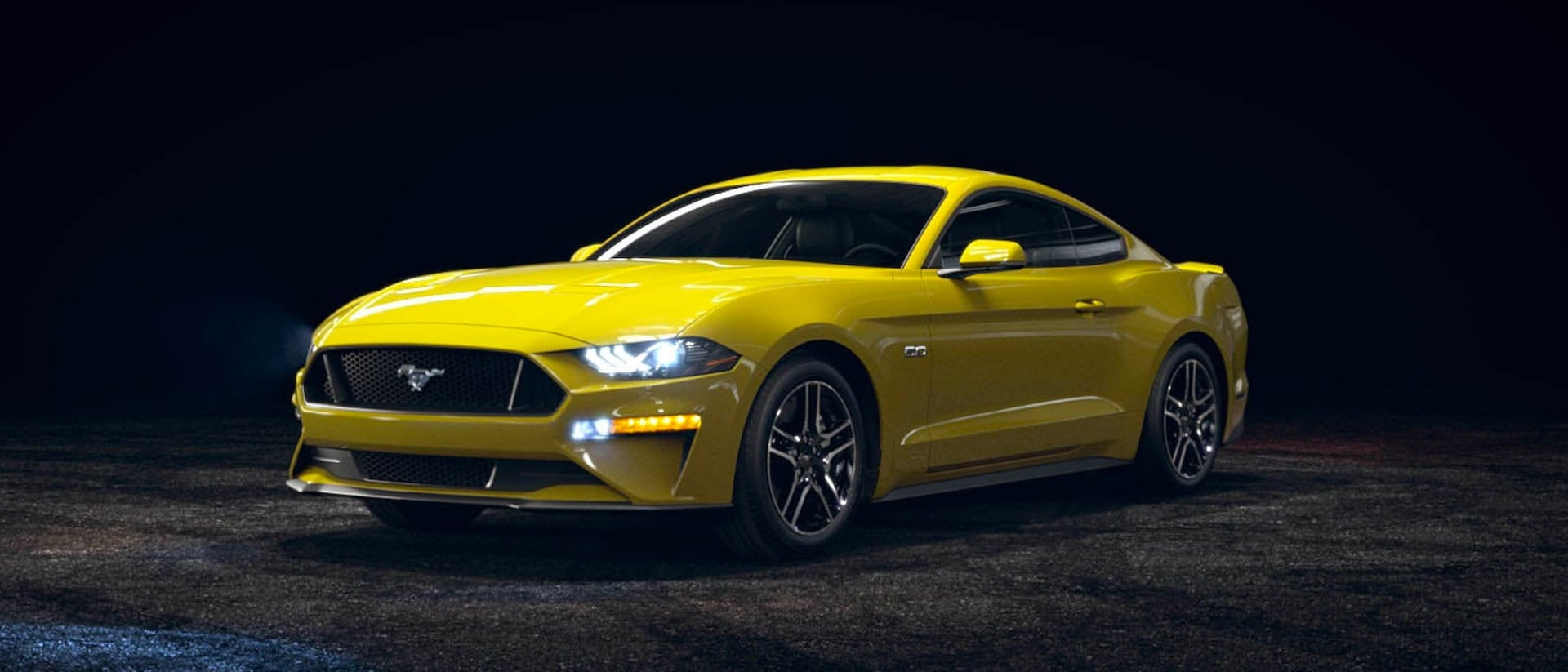 2021 Ford Mustang in Grabber Yellow