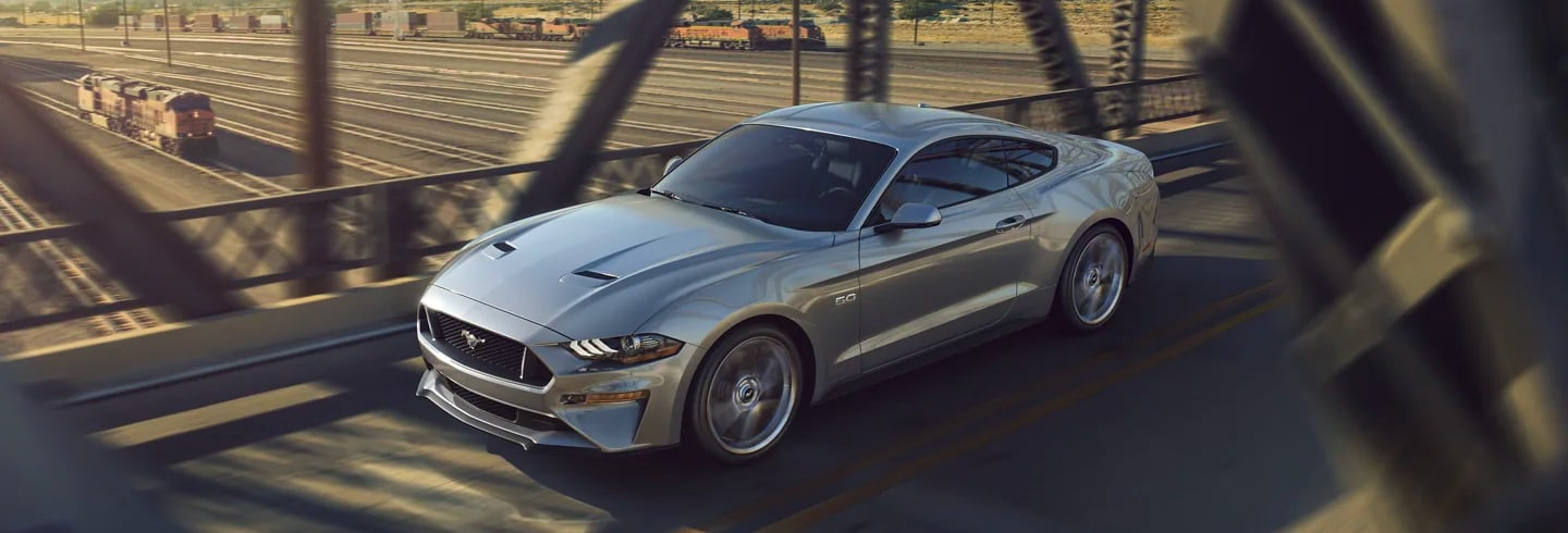 A Ford Mustang