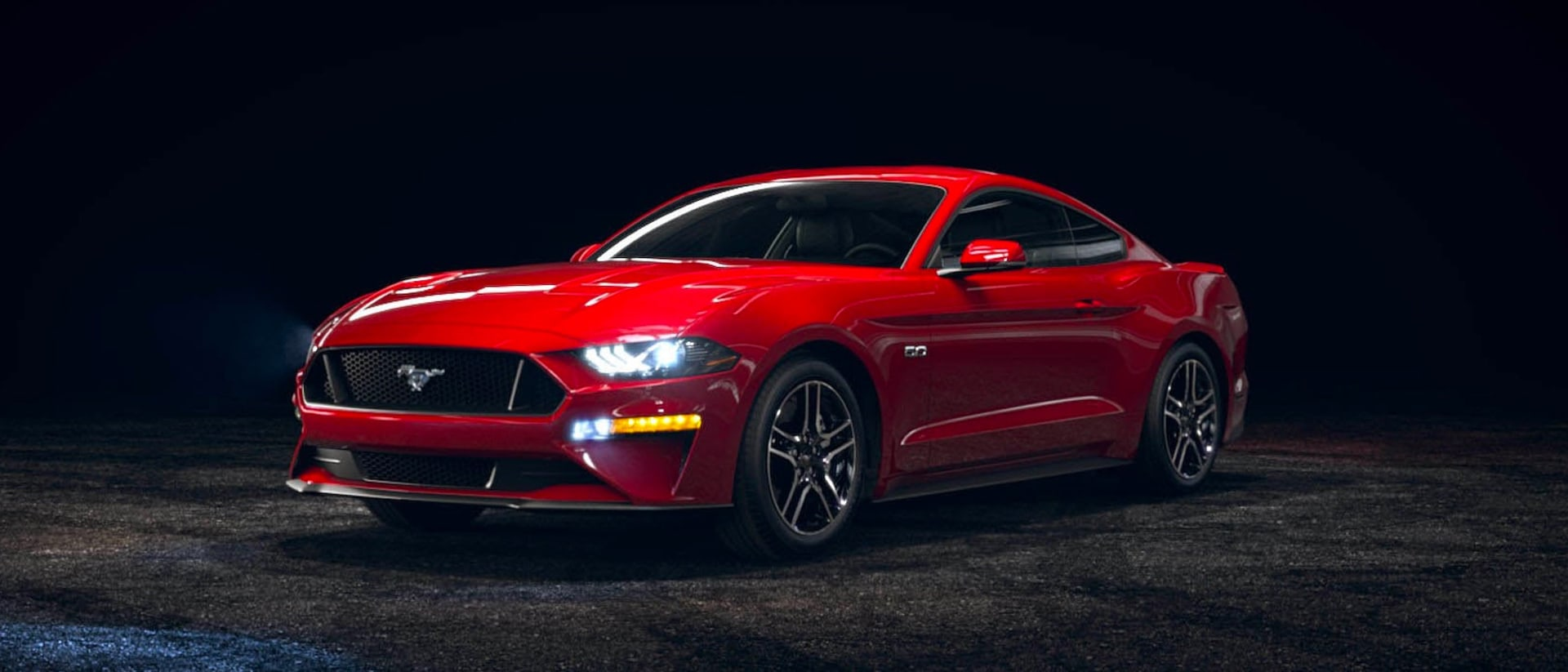 2021 Ford Mustang in Race Red
