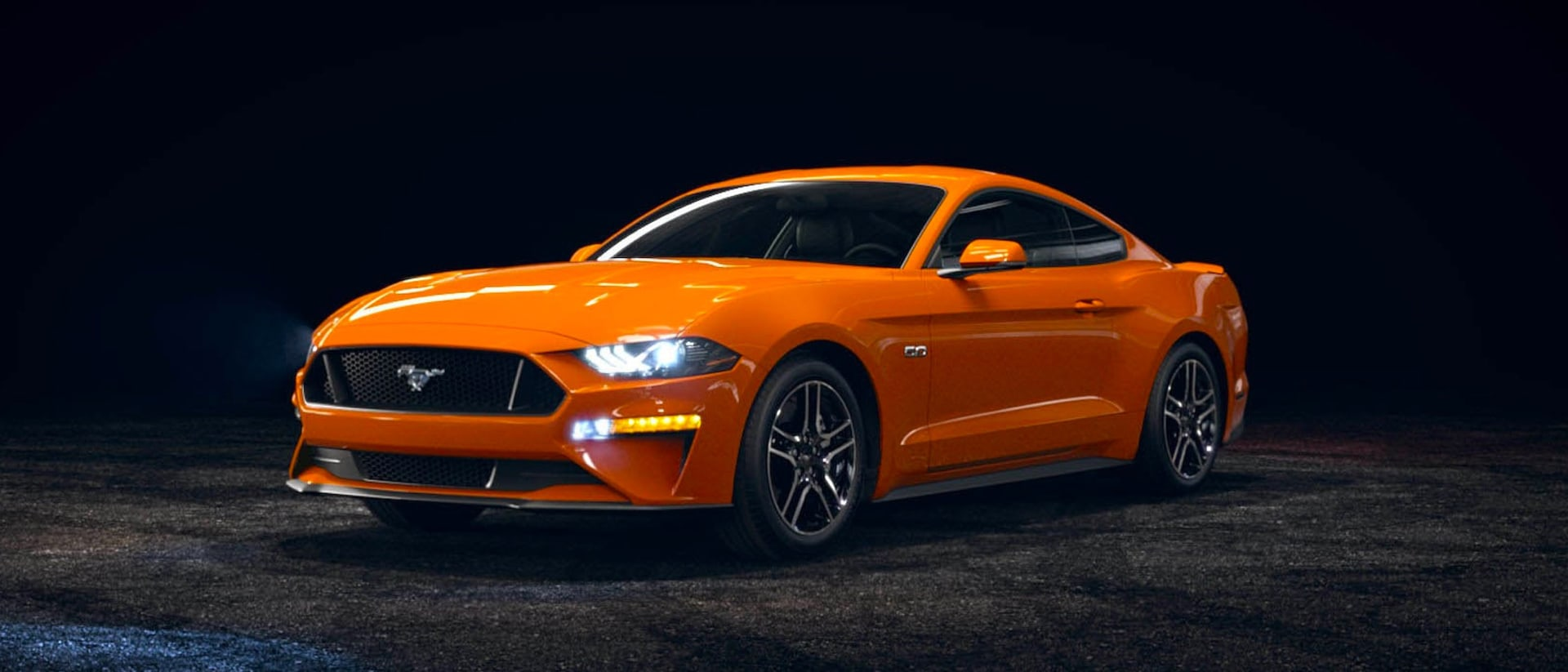 2021 Ford Mustang in Twister Orange