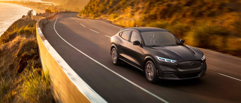 Dark Matter Gray Metallic Mach-E Mustang