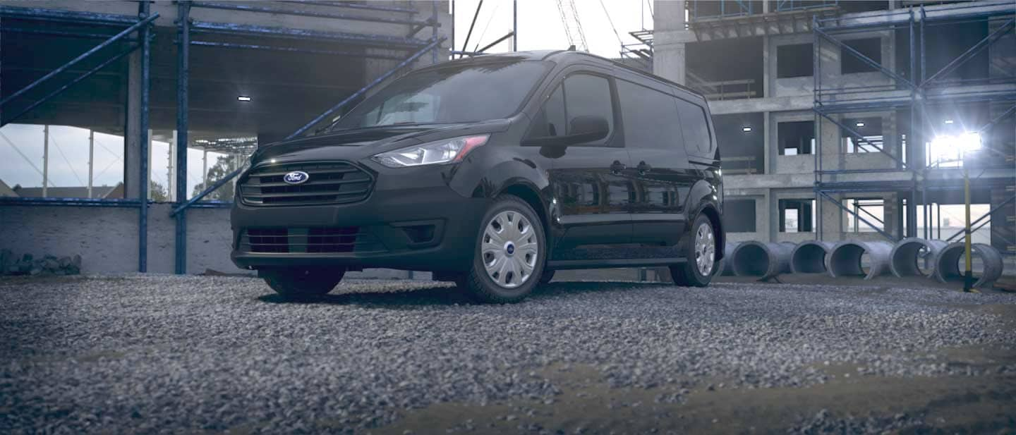 Agate Black Ford Transit Connect Cargo Van