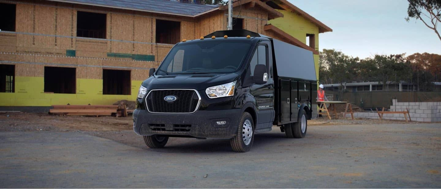 Agate Black Transit Cutaway and Chassis Cab