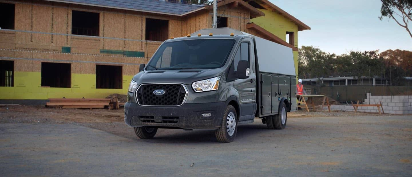 Carbonized Gray Transit Cutaway and Chassis Cab