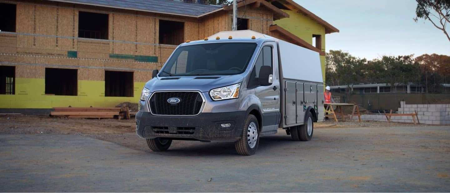 Ingot Silver Transit Cutaway and Chassis Cab
