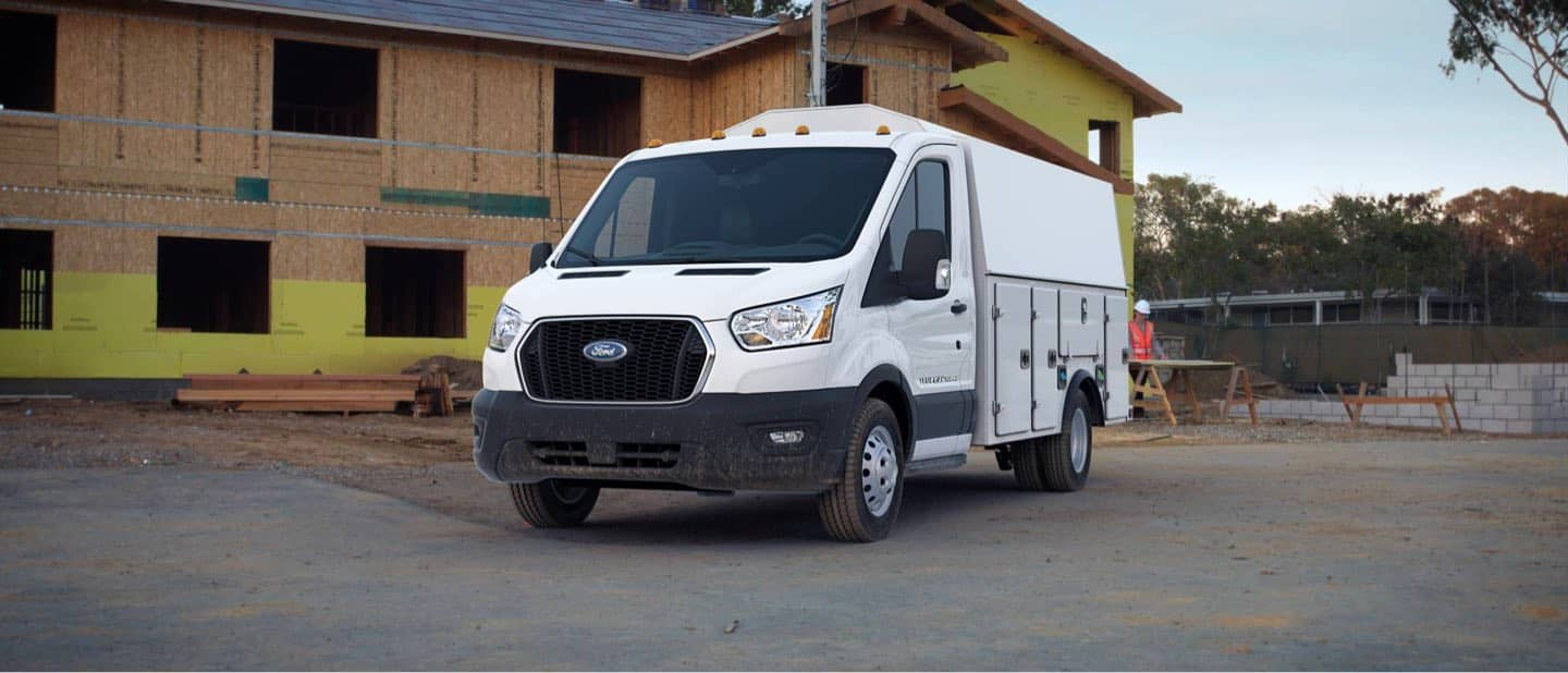 Oxford White Transit Cutaway and Chassis Cab