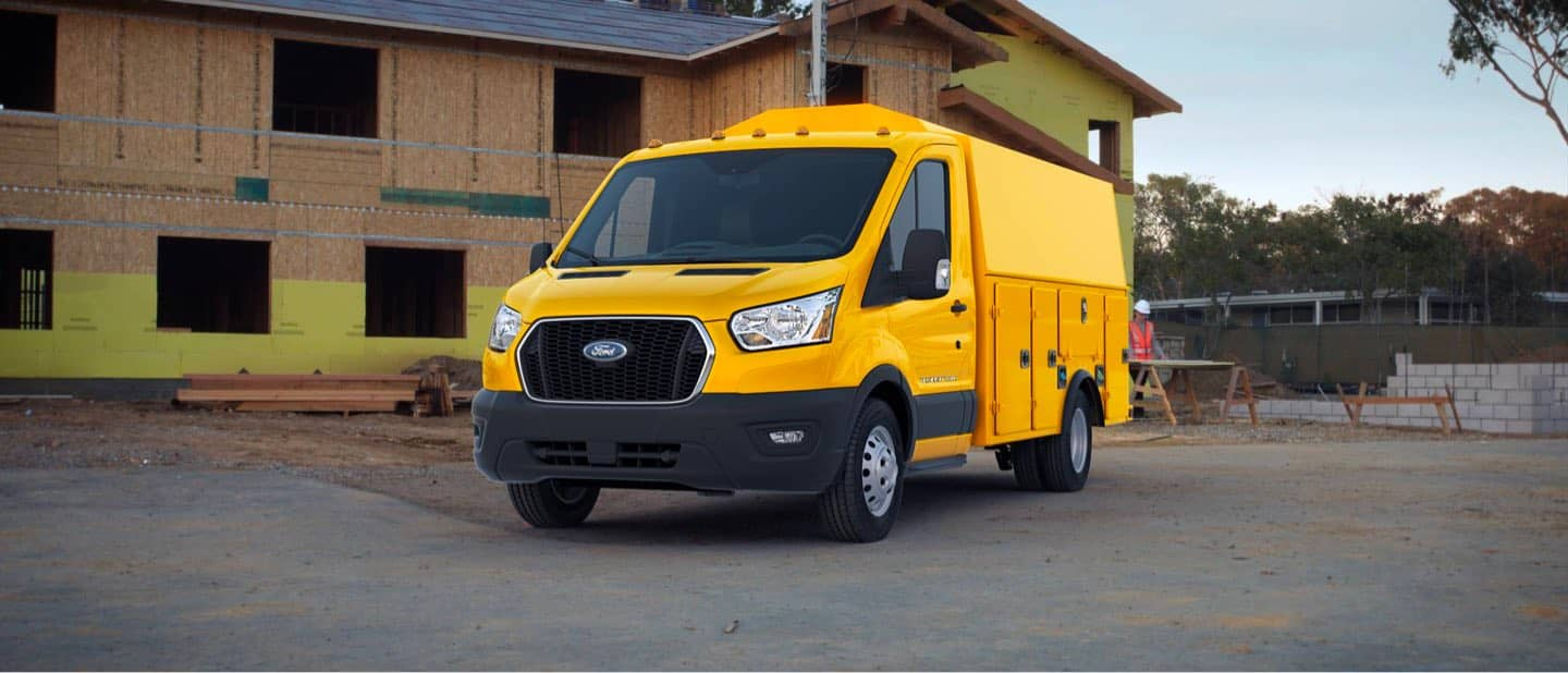 School Bus Yellow Transit Cutaway and Chassis Cab