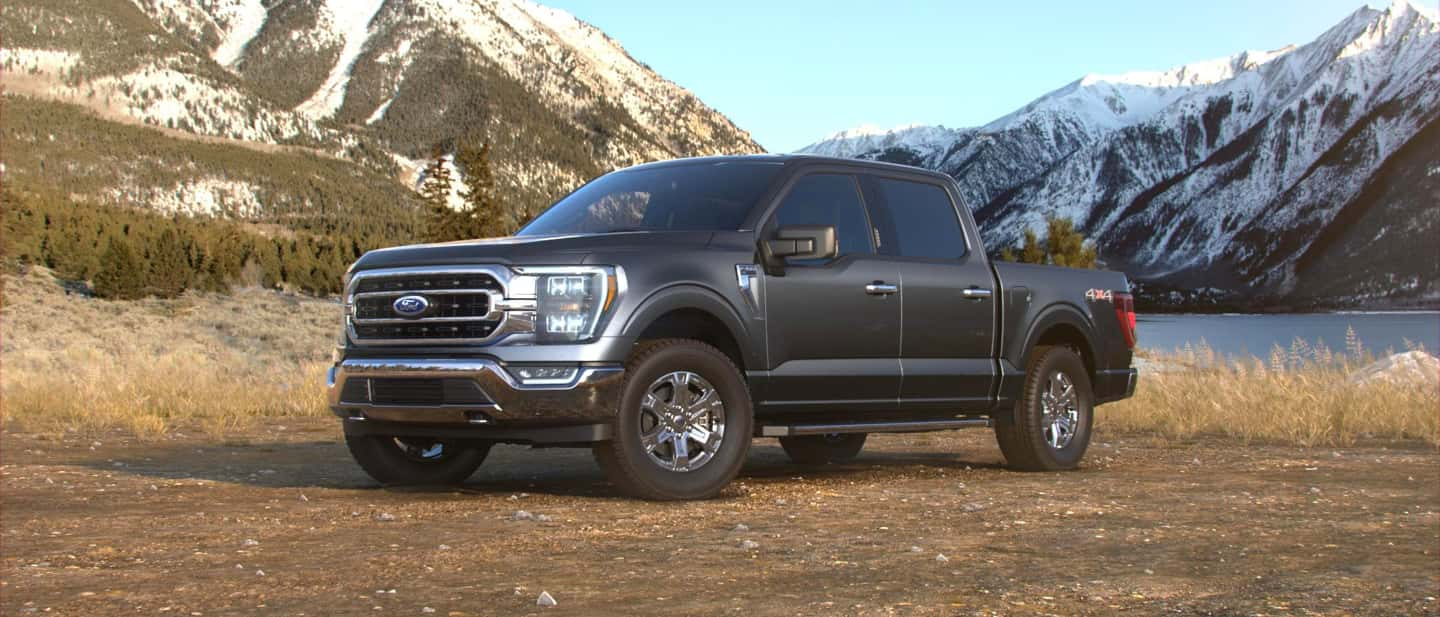 Carbonized Gray Ford F-150