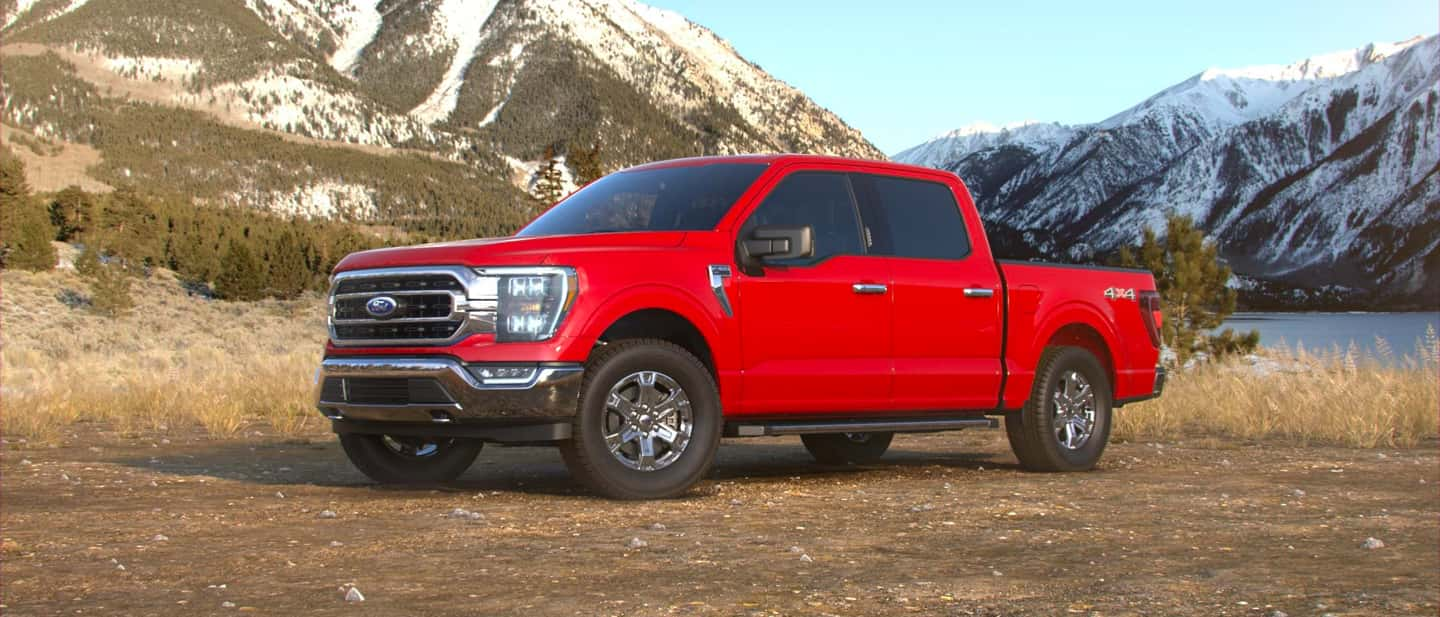 Race Red Ford F-150