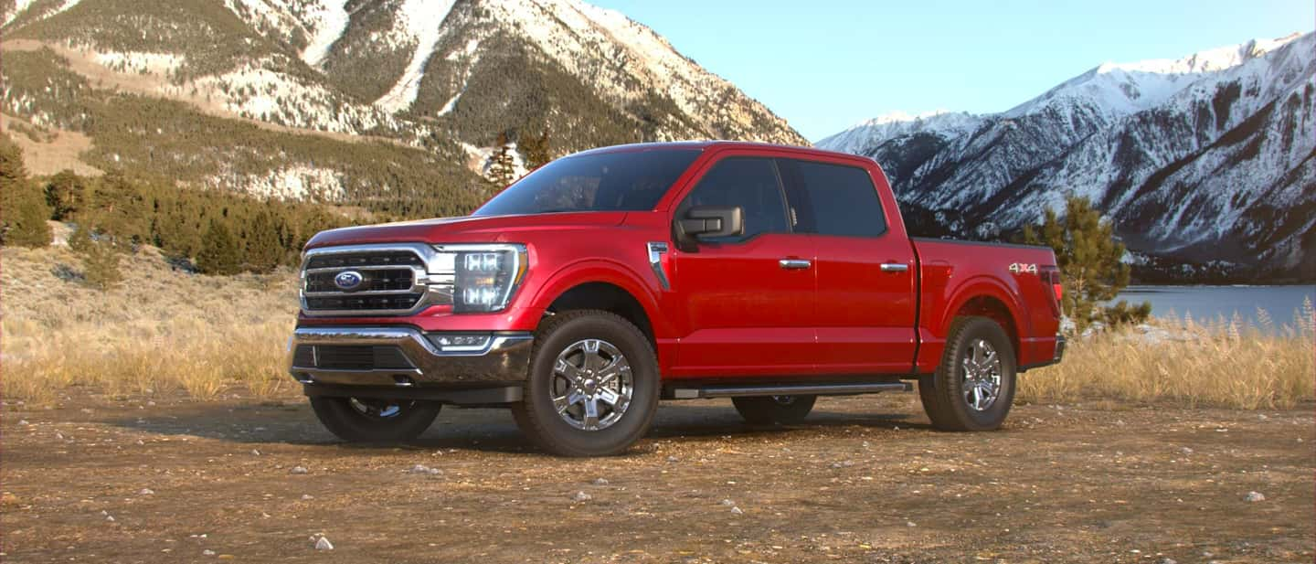 Rapid Red Ford F-150