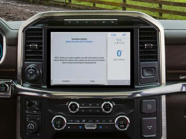 Ford F-150 dashboard software update