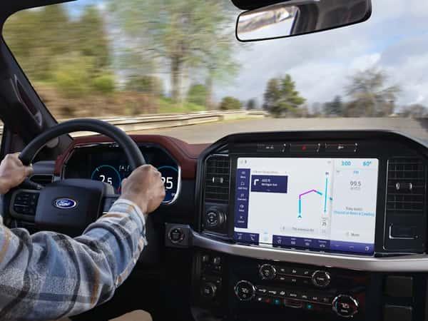 Driver utilizes GPS