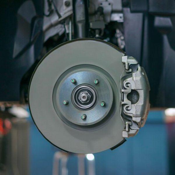 Ford brake caliper and rotor