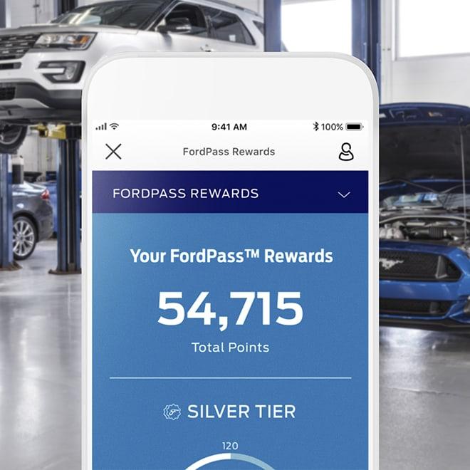 Fordpass app service history