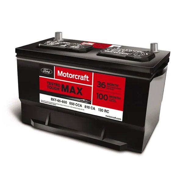 Ford Motorcraft battery