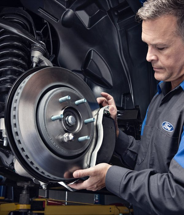 Ford brake rotors, calipers and pads