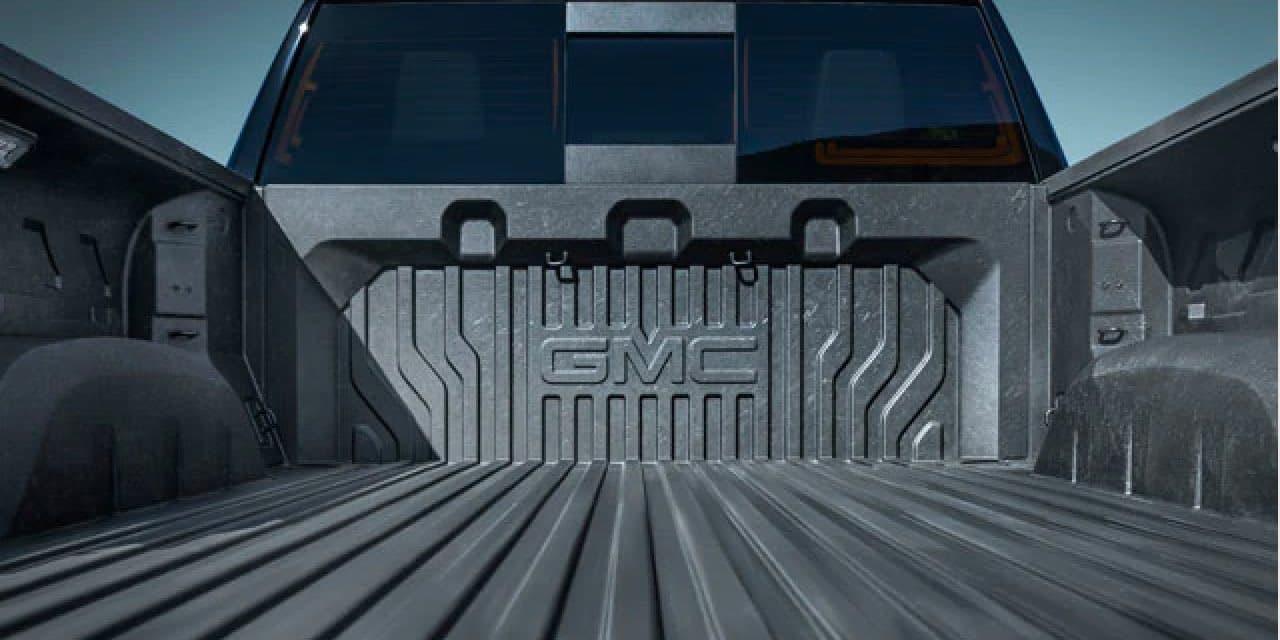 Sierra 1500 truck bed