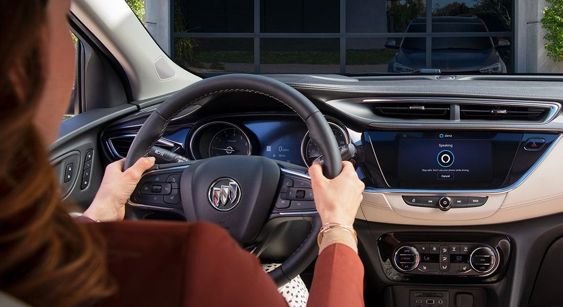Buick vehicle with Alexa Built-in