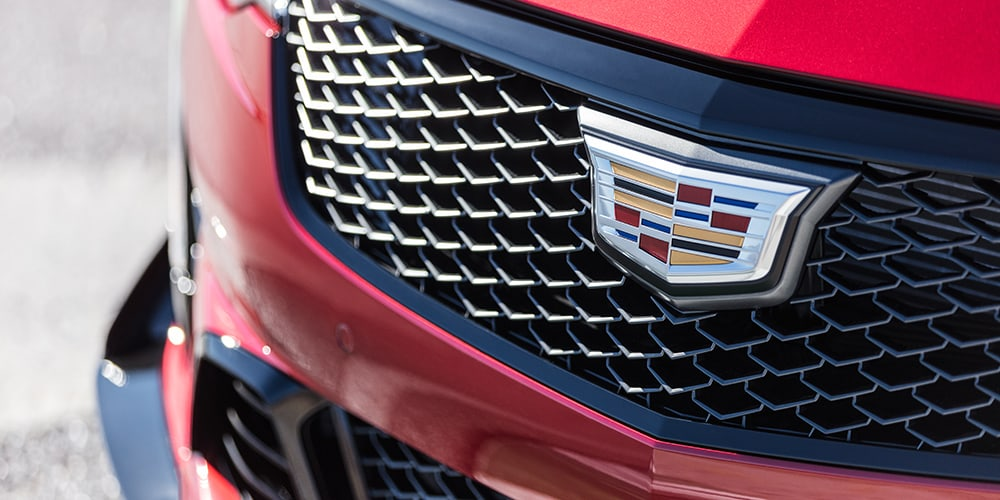 2022 Cadillac CT4-V Blackwing grille
